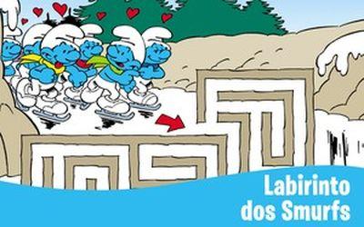 [Especial Os Smurfs] Labirinto
