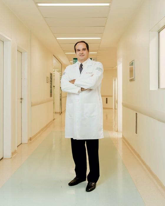 Paulo Hoff oncologista (Foto:  Filipe Redondo / Editora Globo)