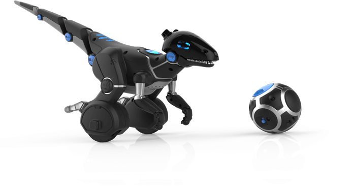 Robô tem design de um dinossauro com sensores completos e brincadeiras para crianças (Foto: Divulgação/WowWee)