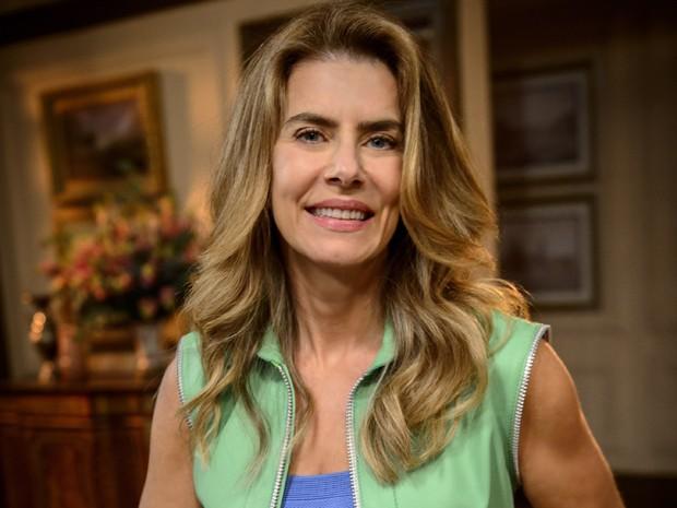Maitê Proença revela como cuida do corpo e que é autodidata em nutrição há 37 anos (Foto: Alex Carvalho/ TV Globo)