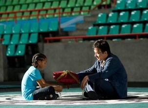 Han ensina os golpes e também os valores por trás do Kung Fu (Foto: divulgação)