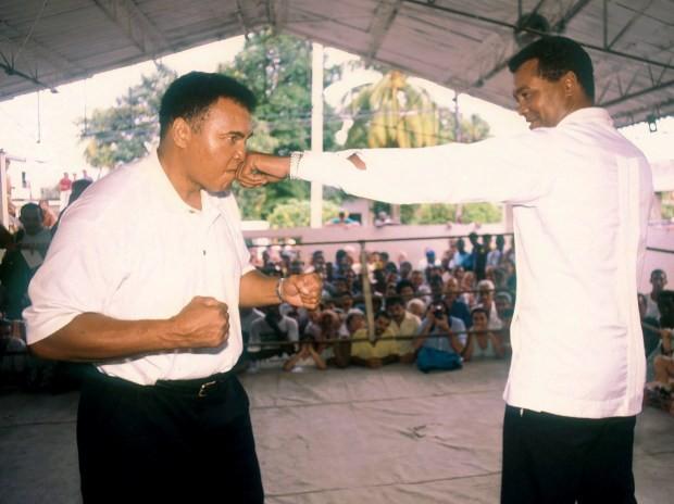 Muhammad Ali e Teófilo Stevenson  (Foto: Getty Images)