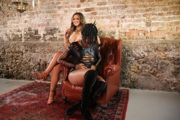 Gabily e Ludmilla (Foto: Daniel Pinheiro/AgNews)