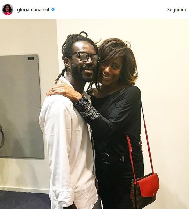 Gloria Maria e Jonathas Azevedo (Foto: Reprodução / Instagram)