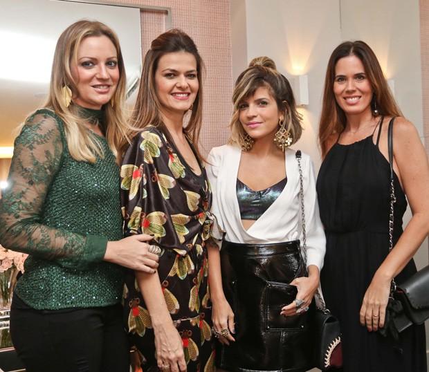 Isabela Dantas, Juliana Berenguer, Paula Magalhães e Mariane Chaves (Foto: Divulgação)