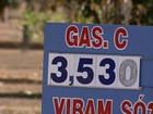 Preço da gasolina cai 11% no DF desde janeiro, atingindo R$ 3,53