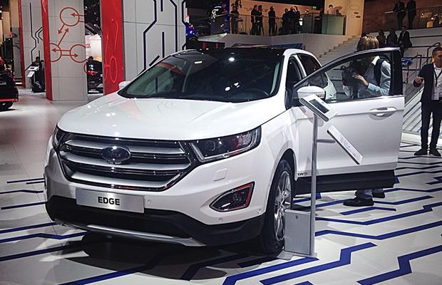 Ford Edge no Salão de Frankfurt 2015 (Foto: Giulia Lanzuolo/Autoesporte)