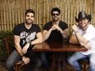 Rodrigão, João Gabriel e Bruno Araújo celebram sucesso de 'Os Marvados'
