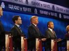 Trump e Carson sofrem ataque sobre seus projetos em debate nos EUA