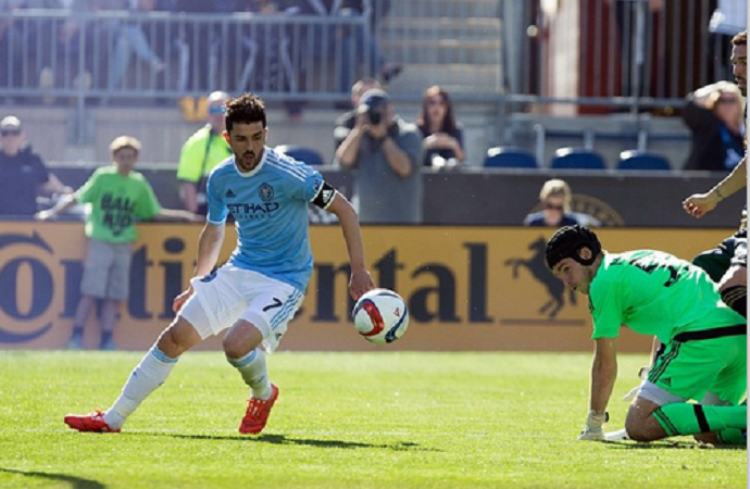 David Villa New York City FC (Foto: Divulgação)