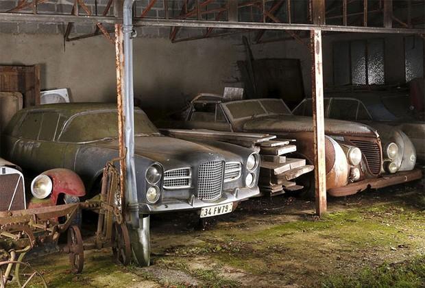 Carros antigos (Foto: Artcurial Motocars/B/NPS/Reprodu)