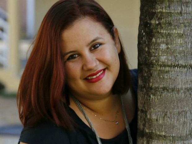 Leifa Callen, 29 anos, trabalha como vendedora em Nova Xavantina (Foto: Divulgação)