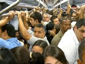 trem (Foto: TV Globo)