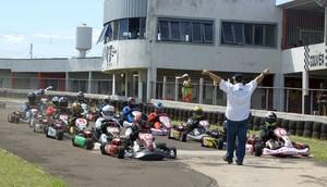 Abertura do estadual de kart será neste fim de semana em Campo Grande (Foto: Eliézer Bueno/FAMS)