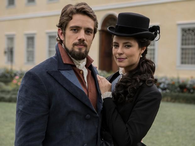 Melissa, personagem de Paolla Oliveira, vai disputar o amor de Felipe com Lívia (Foto: Fábio Rocha/Gshow)