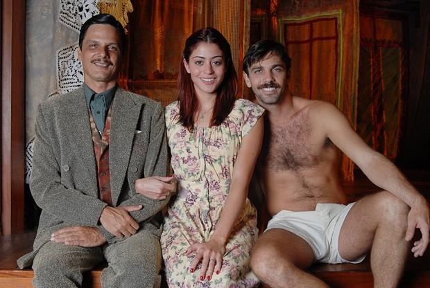 Duda Ribeiro, Carol Castro e Marcelo Faria (Foto: Ego)