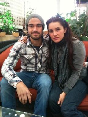 Alfonso Herrera e Dulce María (Foto: Reprodução)