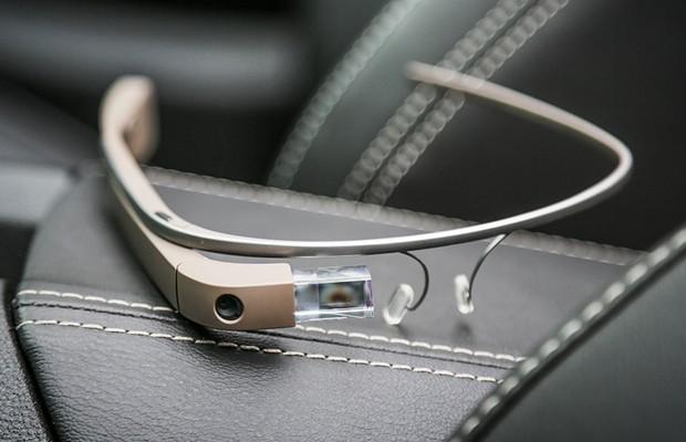 Dirigimos usando o Google Glass (Foto: Rafael Munhoz / Autoesporte)