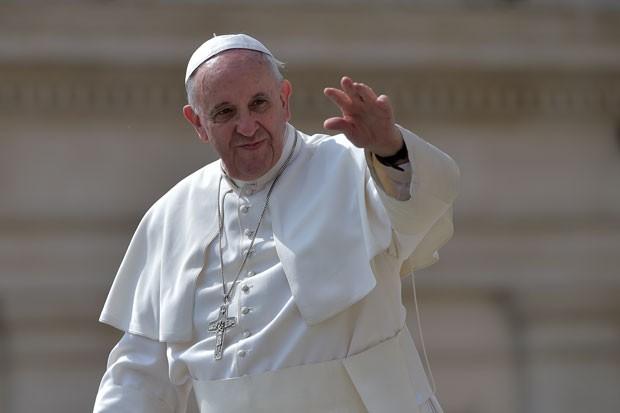 Papa pediu a católicos que reflitam se são fieis a Jesus ou traidores (Foto: Gabriel Bouys/AFP)