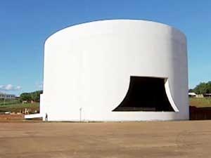Obra do teatro começou há 14 anos (Foto: Reprodução/TV Integração)