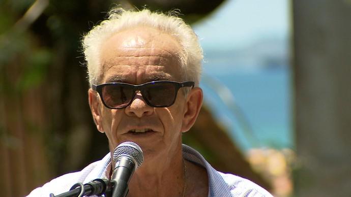O veterano Edil Pacheco diz que a nova geração está cheia de mulheres (Foto: TV Bahia)
