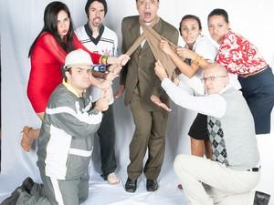 Comédia Velório a Brasileira é atração em Salto (SP) (Foto: Prefeitura de Salto/Divulgação])