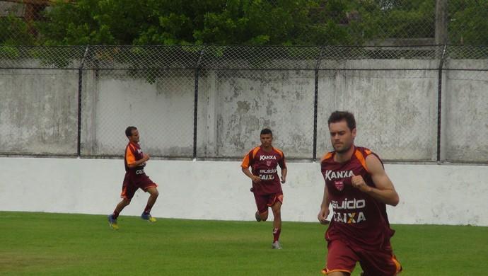 Douglas Packer CRB (Foto: Viviane Leão/GloboEsporte.com)