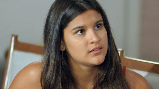 Malhação: Lívia discute com Miguel pelo Dom Fernão (divulgação)
