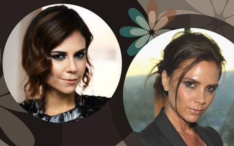 Torquatto faz maquiagem inspirada em Victoria Beckham