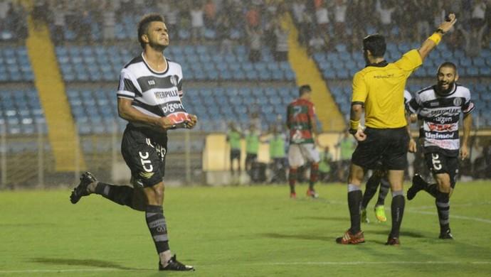 Roni XV de Piracicaba x Portuguesa Campeonato Paulista (Foto: Michel Lambstein / XV de Piracicaba)