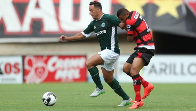 Goiás x Atlético-GO no Serra Dourada (Foto: Cristiano Borges/O Popular)