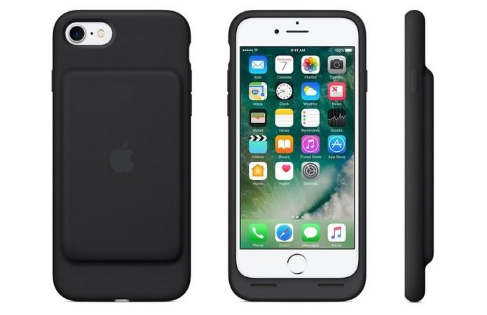 Smart Battery Case, capa com bateria externa para iPhone 7 (Foto: Divulgação/Apple)