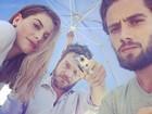 Alinne Moraes, Emílio Dantas e Rafael Cardoso gravam últimas cenas