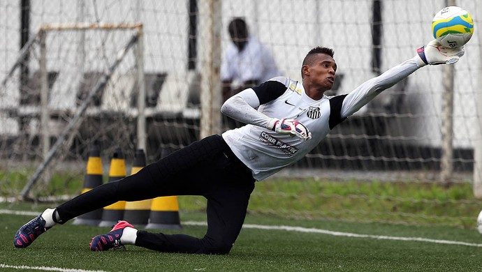 John Vitor santos (Foto: Pedro Ernesto Guerra Azevedo / Santos FC)