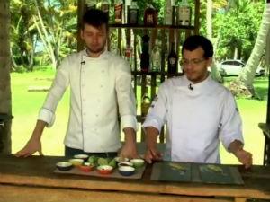 Saiba como se prepara o carpaccio vegetariano  (Foto: Reprodução/TV Gazeta)