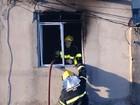 Incêndio atinge uma casa no bairro Salgado Filho, Região Oeste de BH