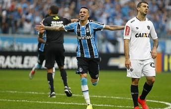 """Grêmio garante """"fico"""" e vê Luan mais valorizado que Gabriel Jesus e Gabigol"""