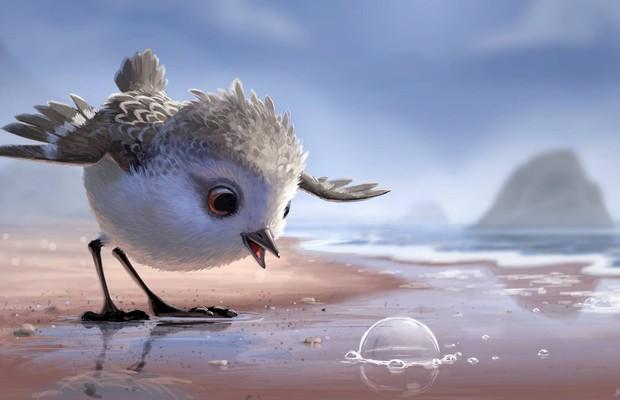 Piper: a estrela do novo curta de Disney•Pixar (Foto: Divulgação)