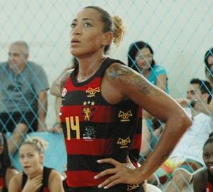 érika, pivô érika, basquete feminino,  (Foto: Lucas Barros / GloboEsporte.com/pb)