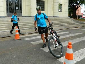 Ciclista vence desafio intermodal em Sorocaba (Foto: Comunicação/Urbes)