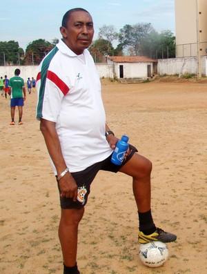 Toinho - Ex-goleiro campeão em 77 pelo São Paulo (Foto: Náyra Macêdo/GLOBOESPORTE.COM)