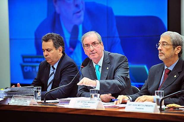 Após criticar a atuação do procurador-geral da República, Eduardo Cunha defendeu que o chefe do Ministério Público abra mão da recondução (Foto: Rodolfo Stuckert/Câmara dos Deputados)