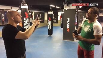 Alan Nuguette faz campanha por vaga em evento da International Fight Week