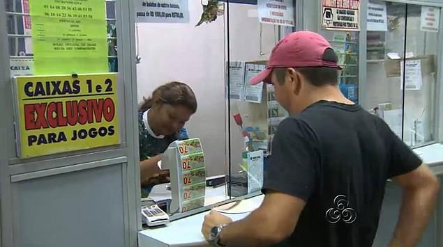 Lotéricas já se preparam para a grande procura na última semana do ano (Foto: bom dia amazônia)