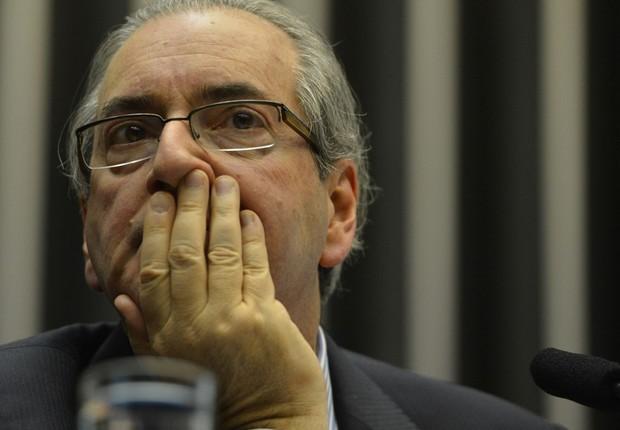 O deputado afastado Eduardo Cunha (PMDB-RJ) (Foto: Fabio Rodrigues Pozzebom/Agência Brasil)