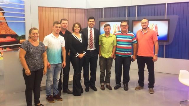 Grupo participou do primeiro encontro do Fórum (Foto: Lisandra Nienkoetter/RBS TV)