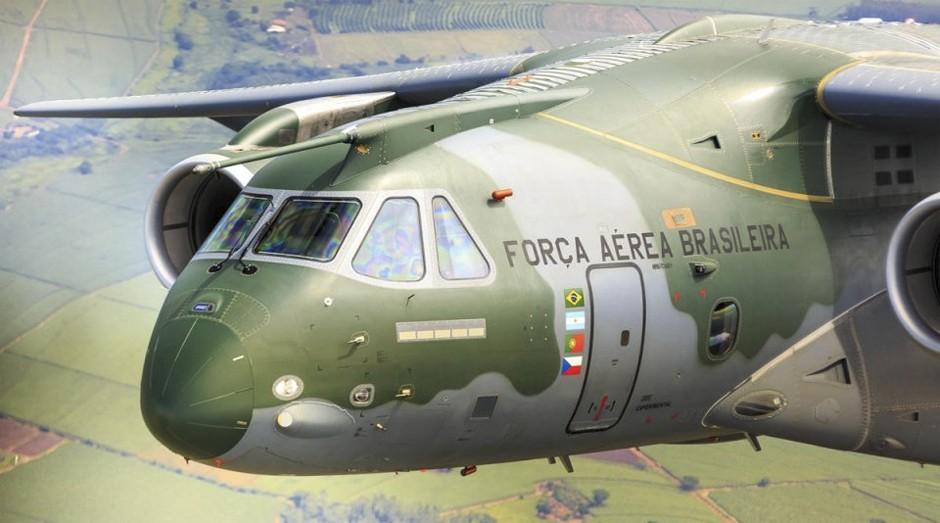 KC-390: avião é um avanço da Embraer no setor militar (Foto: Reprodução)