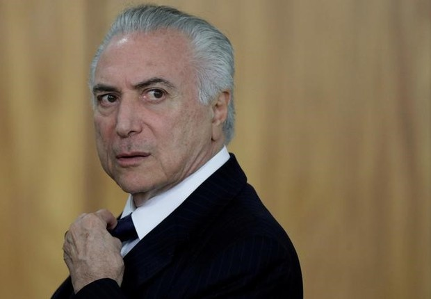Presidente Michel Temer no Palácio do Planalto (Foto: Ueslei Marcelino/REUTERS)
