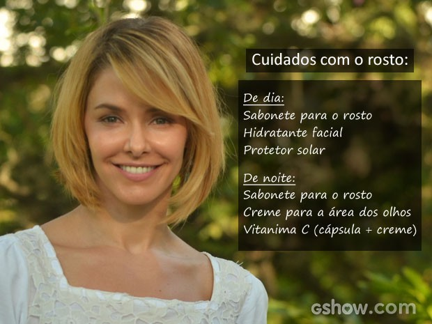 Confira os produtos usados por Bianca Rinaldi (Foto: Fred Rozário / TV Globo)