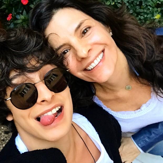 Helena Ranaldi e o filho, Pedro (Foto: Reprodução/Instagram)
